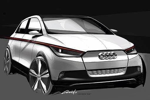 奥迪将推A2纯电动概念车 法兰克福车展首发