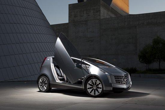凯迪拉克概念车:节能高效与设计的典范