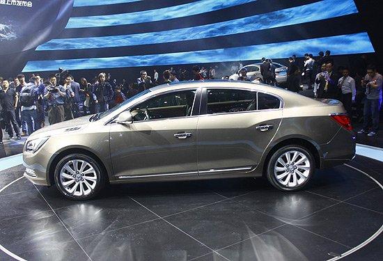 别克新款君越共推出6款车型 将于4月底上市