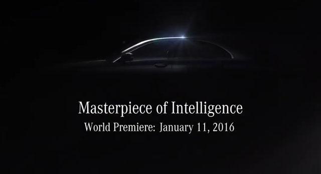 奔驰新款E级1月11日首发 更多技术信息发布