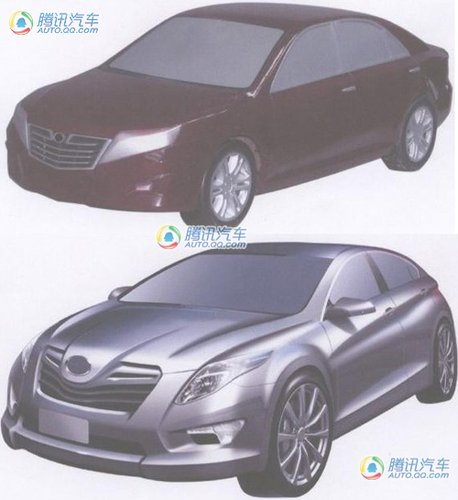 轿车和跑车齐发 力帆两款新车型效果图曝光