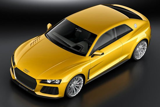 [新车发布]奥迪Sport Quattro概念车官图