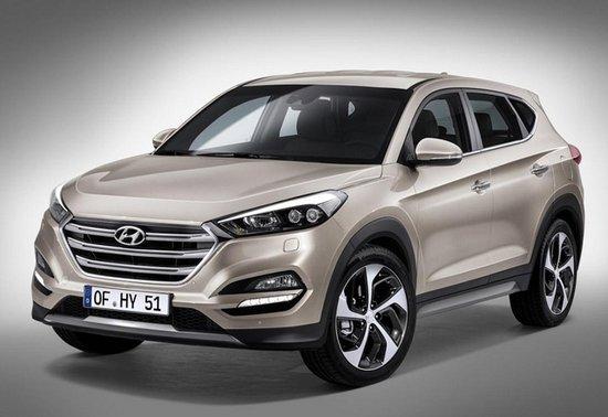 现代国产新ix35上海车展发布 或命名新途胜