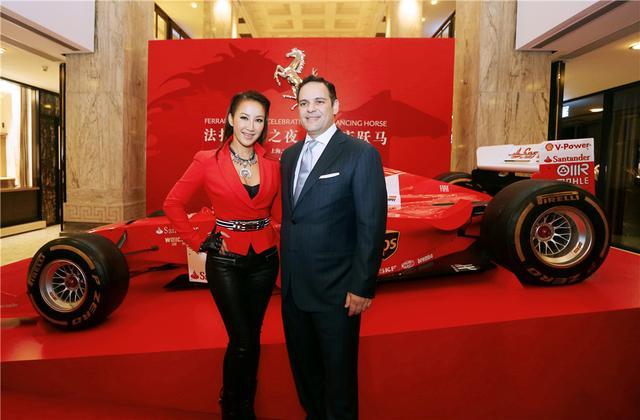 F1世界冠军揭幕法拉利跃马之年徽标