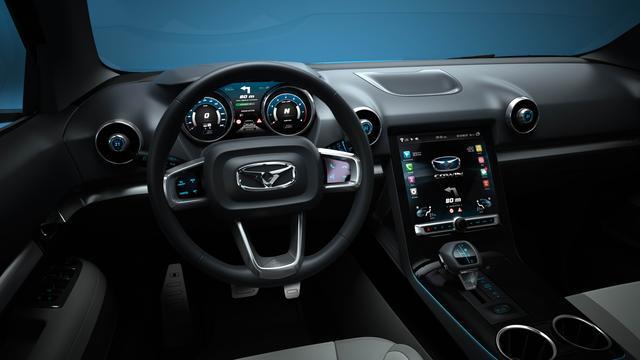 凯翼首款SUV概念车i-cx发布 基于科技互联