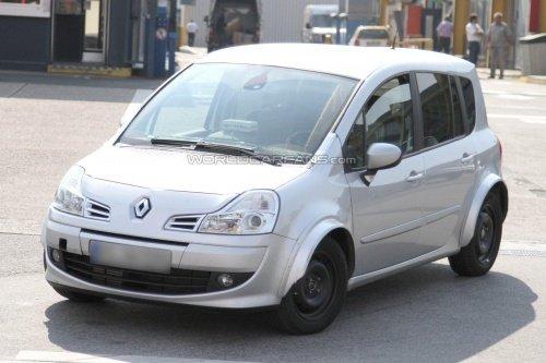 基于Clio 新一代雷诺Modus测试谍照曝光