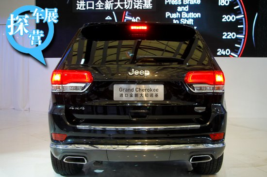 [上海车展探营]抢先实拍Jeep2014款大切