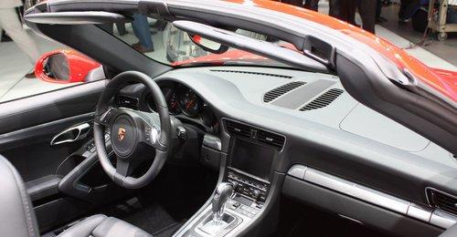 全新保时捷911敞篷版内饰设计高清图片