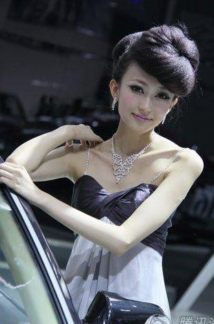 2010中国长春国际汽车博览会车模
