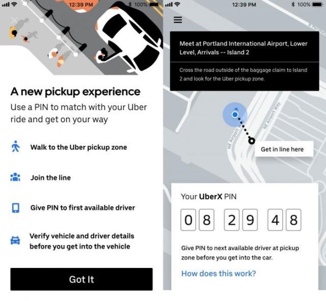Uber推出PIN功能 减少司机在美国各地机场的等待时间