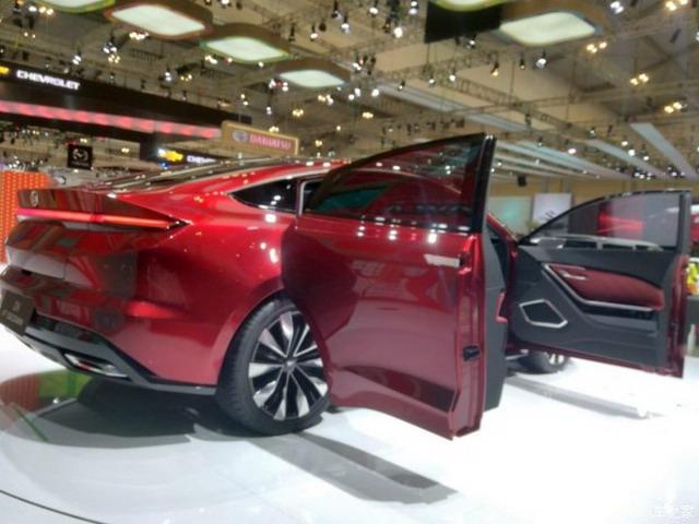 定位小型轿车 大发概念车DN F-sedan图片