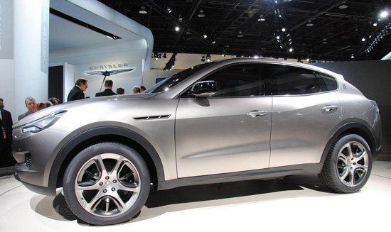 玛莎拉蒂kubang 概念车高清图片