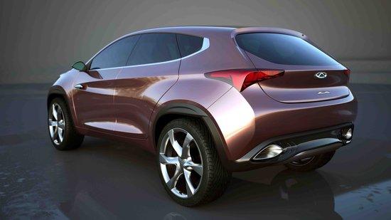 [国内车讯]奇瑞2款概念车将于北京车展亮相