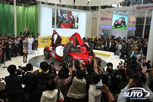 2011上海车展开幕 展车数量创历史新高