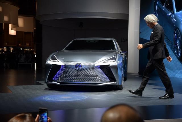 雷克萨斯推全新概念车 LS+ Concept首发