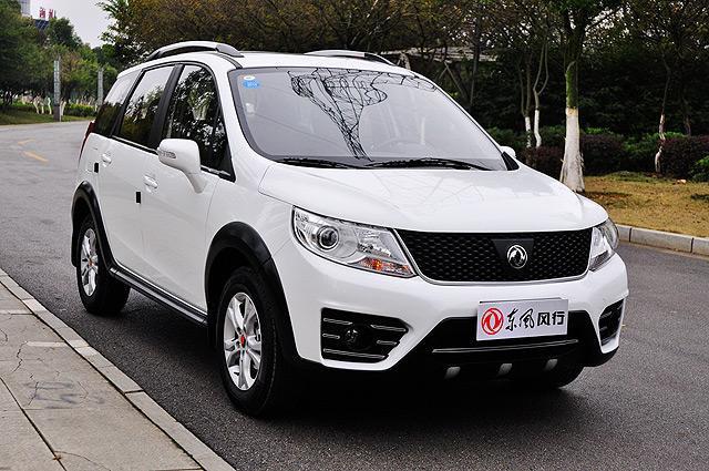 [新车上市]东风风行景逸X3售6.99-7.79万元