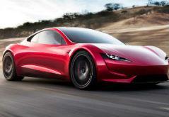 特斯拉白色版Roadster跑车将于9月在巴塞尔车展亮相