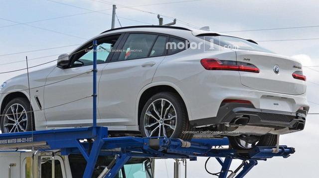 宝马X4全新外形更加犀利 或日内瓦车展首秀