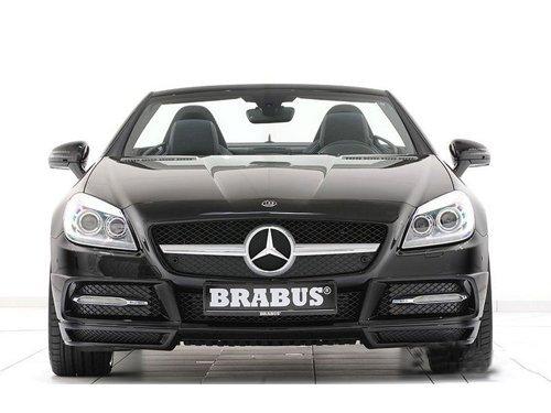 Brabus精心改造新款奔驰SLK 黑丝小美人