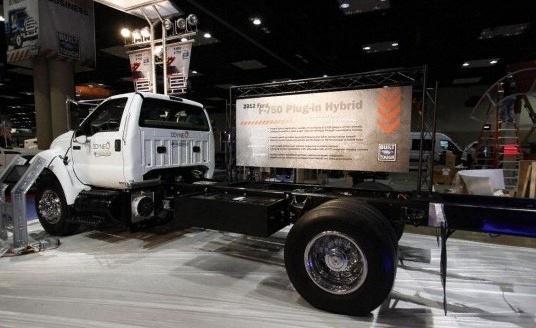 世界最大量产皮卡:福特猛禽系列大哥大F750堪称世界第一