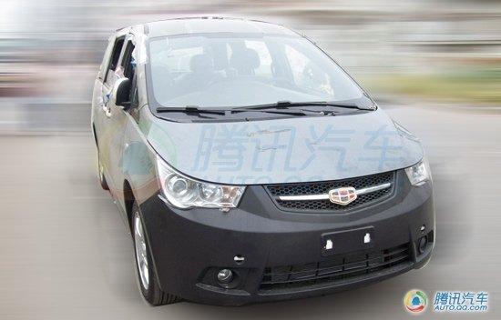 内战升级 帝豪全新MPV车型EV8试装车曝光