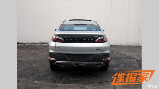 造型动感时尚 新款启辰T90有望4月上市