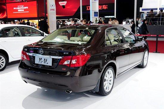 比亚迪思锐车展上市 售10.39-15.09万元
