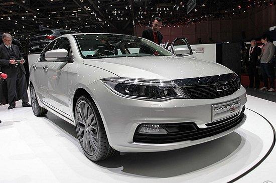 [新车解析]观致Qoros 3轿车日内瓦全球首发