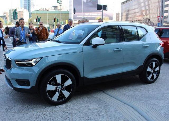 全新沃尔沃XC40 2018北京车展亮相