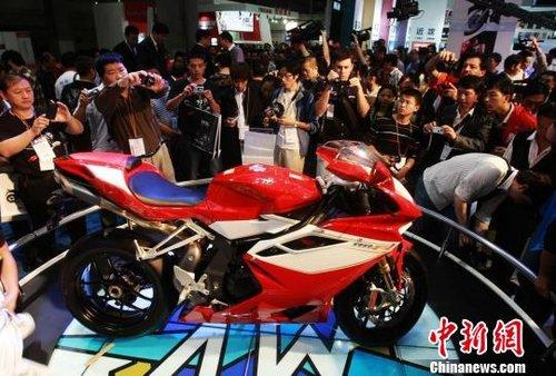 """""""两轮法拉利""""将登陆广州车展 售价近40万元"""