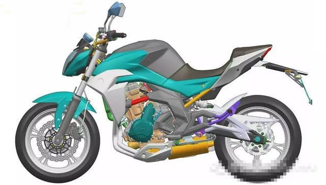 老周聊摩托 国产新款双缸400cc车型曝光图片