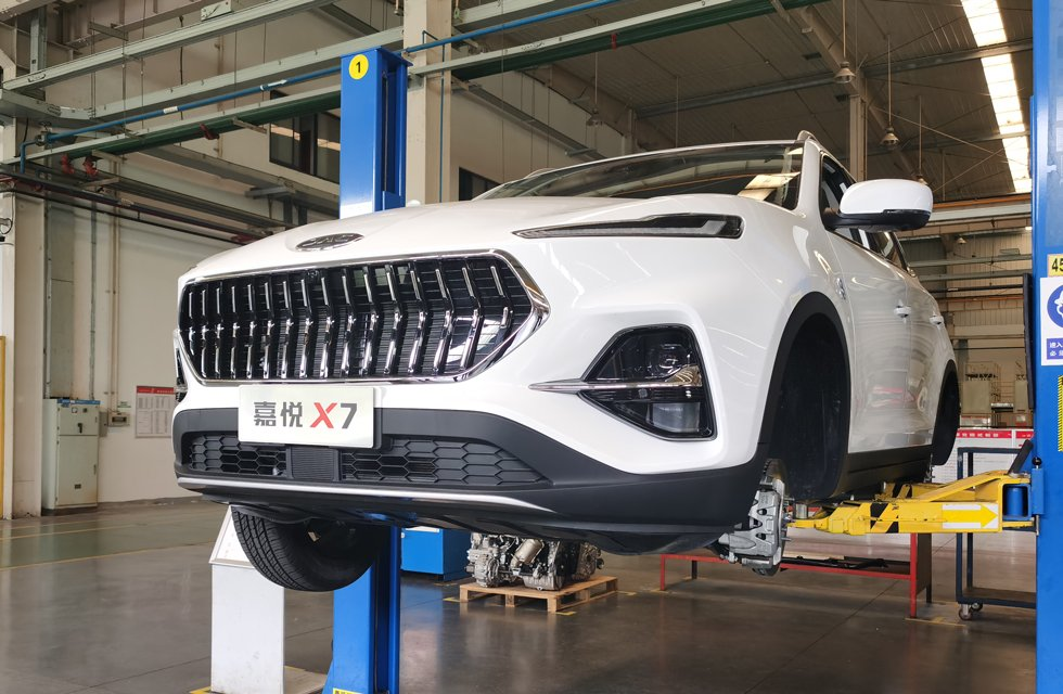 江淮中型SUV嘉悦X7底盘解析 3大亮点值得一看