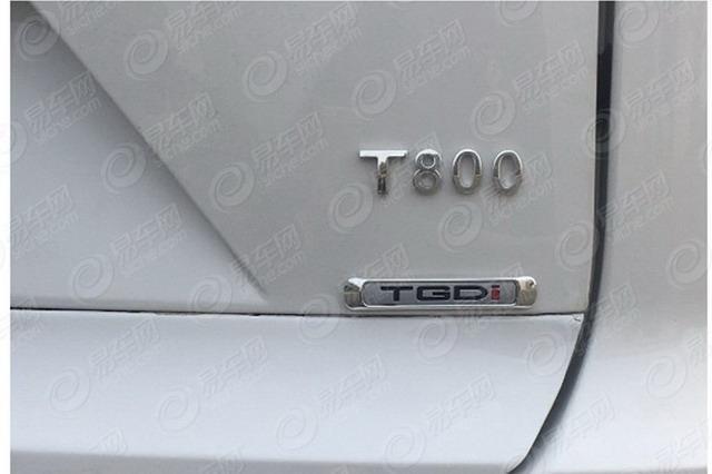 众泰七座SUV现身 T800申报信息曝光