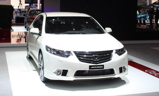 思铂睿原型车 本田改款欧版雅阁正式发布