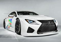 雷克萨斯RC F GT3成都车展正式发布