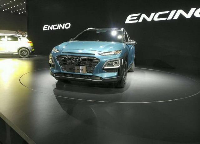 现代ENCINO正式亮相 气势派头越发激进
