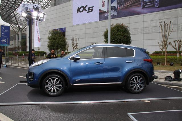 国产起亚KX5上市 售价15.68-21.38万元