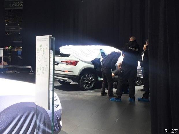 斯柯达柯迪亚克Scout 2017日内瓦车展探馆