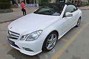 MM提白色E260双门轿跑