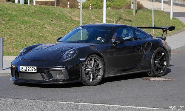 曝新款保时捷911 GT3 RS谍照 江湖见