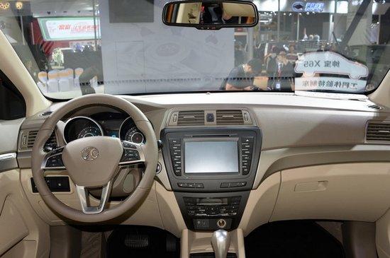 北汽绅宝X65明年3月上市 预售约12-15万