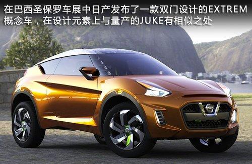 日产小SUV-JUKE将推双门 与玛驰同平台