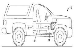 福特申请可拆卸车门专利 或用于2020款Bronco