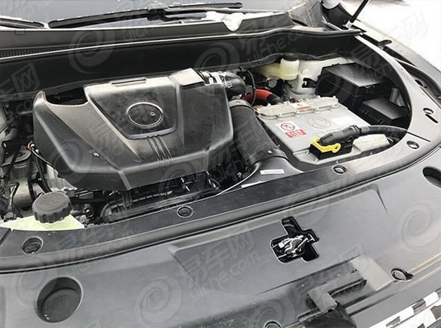基于AX8打造 东风风神AX8混动版车型谍照