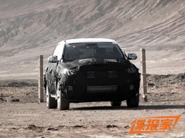 曝威马汽车首款量产车谍照 2018年正式投产