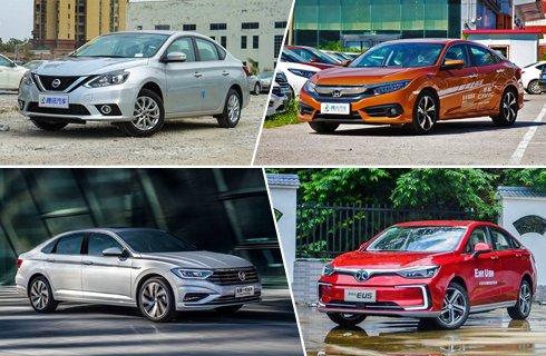 轩逸换代前登榜首/北汽新能源EU首进前10名 6月国内轿车销量Top10