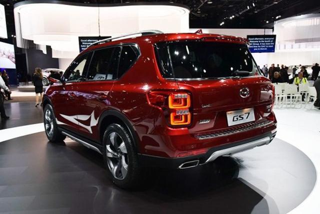 广汽传祺GS7将增1.8T车型 上海车展亮相