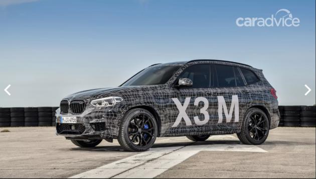 宝马X3M/X4M即将发布 将于10月巴黎车展上正式亮相