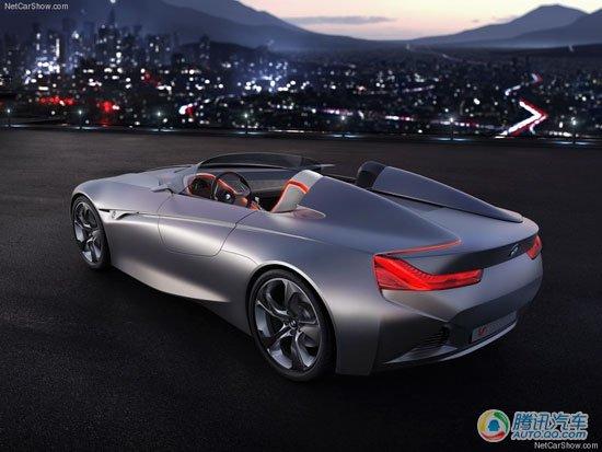日内瓦车展首发 宝马将推混动超跑概念车