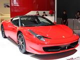 火红法拉利458
